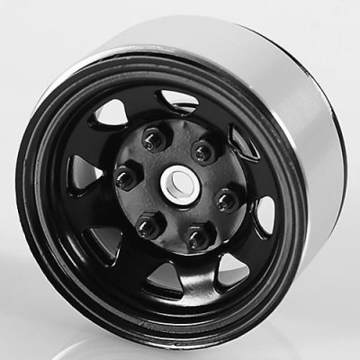 RC4WD Zw0036 Stamped Steel 155 Stock Black Beadlock Wheel