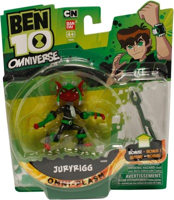 Ben 10 Fusion Juryrigg With Accessory Action Figures 4