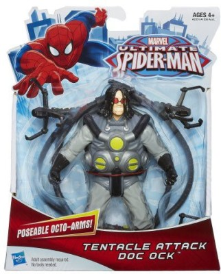 Spiderman Marvel Ultimate Tentacle Attack Doc Ock 6 Inches