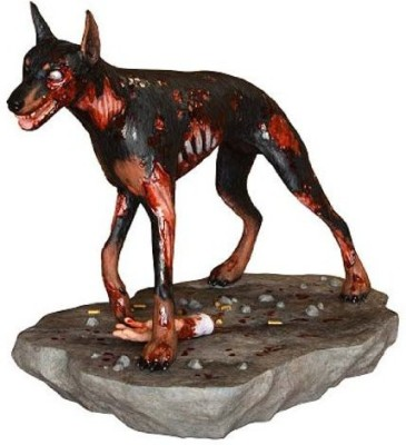 Hollywood Collectibles Group Resident Evil Cerberus Zombie Dog