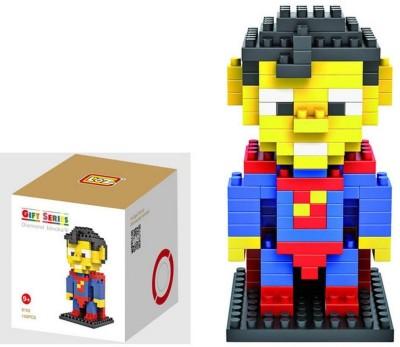 LOZ Diamond Block Superman Toys 150pcs Parent-child Games Building Blocks Children's Educational Toys