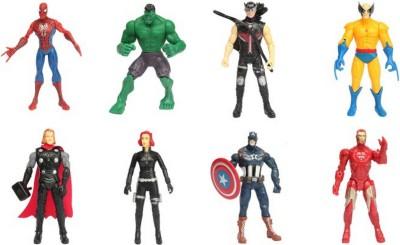 RVOLD Avengers 8 in 1 Super Power America Heros