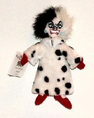 Disney Beanbag Cruella De Vil