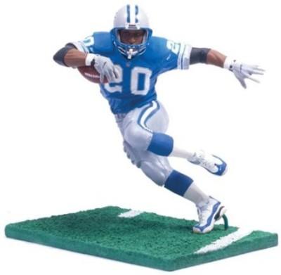 Get best deal for Mcfarlane Toys NFL Legends Figure: Barry Sanders Detroit Lions Blue Jersey(Multicolor) at Compare Hatke