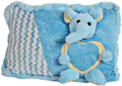 PIST P I Soft Toys Blue Teddy Pillow