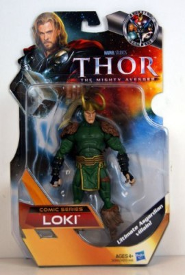 Thor The Mighty Avenger Comic Exclusive 6 Inch Loki