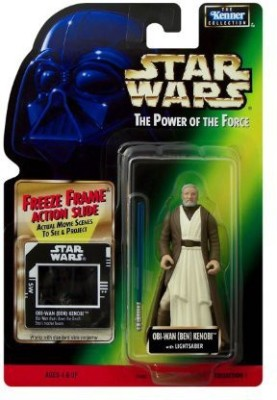 Star Wars Kenner Freeze Frame Obiwan Ben Kenobi Coll 1 Moc
