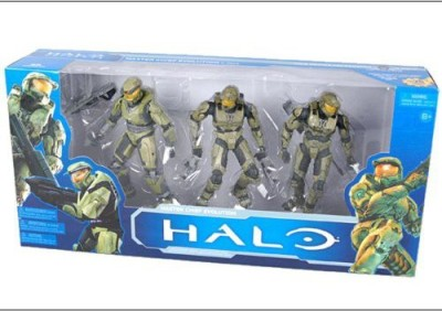 Halo Mcfarlane10Th Anniversary 3Pack Master Chief Evolution 2 3