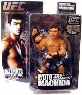 UFC Round 5 Ultimate Collector Series 1 Action Figure Lyoto The Dragon Machida