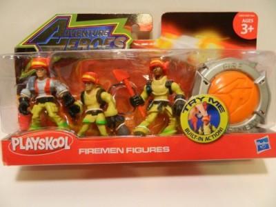 Hasbro playskool adventure heroes firemenmulti
