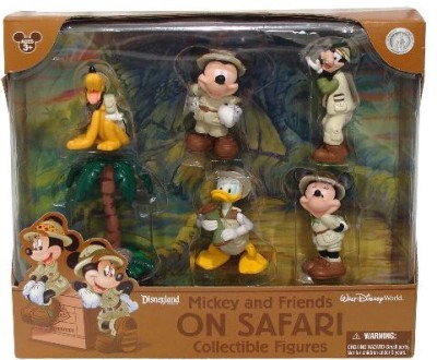 Disney Mickey And Friends On Safari Collectible( Theme Park
