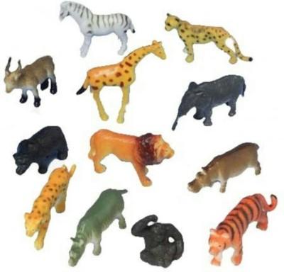 Rahul Toys 12 Pic Wild Animal