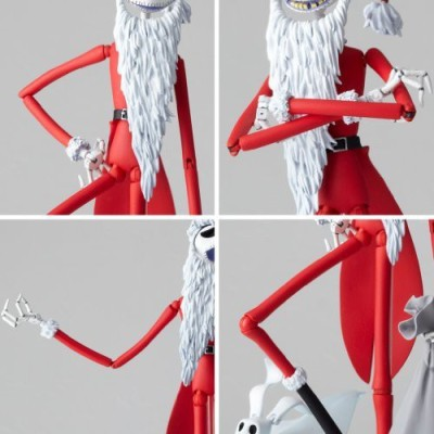 Nightmare Before Christmas The Santa Jack Skellington Revoltech