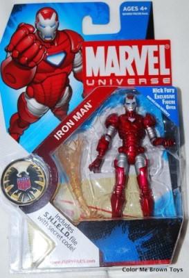 Marvel Universe Series 5 Scarlet Centurion Iron Man