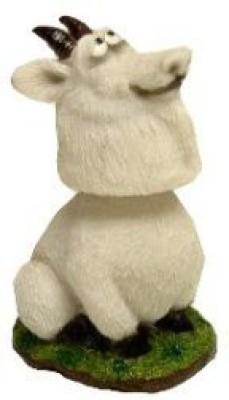 Swibco Mini Bobble Head Goat