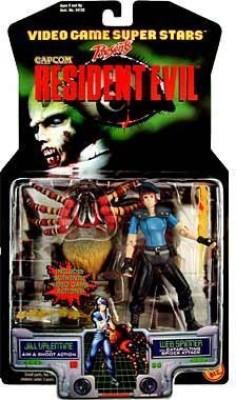 Capcom Resident Evil Jill Valentine & Web Spinner