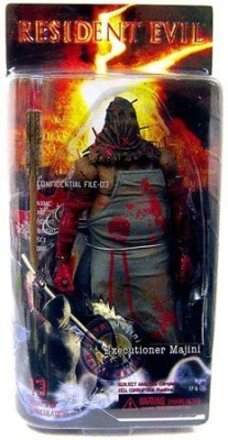 Video Game Figure NECA Resident Evil 5 Series 1 Action Figure Executioner