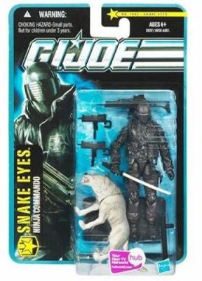 Hasbro Gi Joe Pursuit Of Cobra 3 3/4 Inch Desert Battle Snake Eyes