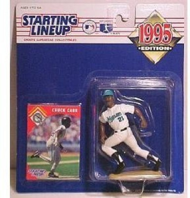 Starting Line Up Chuck Carr Of The Florida Marlins 1995 Edition Starting