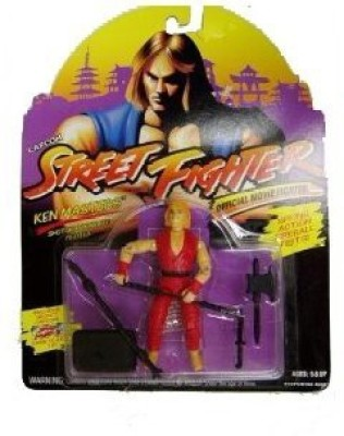 Street Fighter Movie Capcom Action Figure Ken Masters MOC
