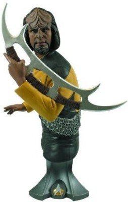 Titan Merchandise Star Trek Commander Worf Maxi Bust