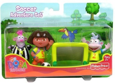 Dora the Explorer Playsets Fisher Price Soccer Adventure Set
