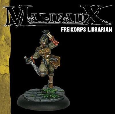 Wyrd Miniatures Freikorps Librarian Malifaux