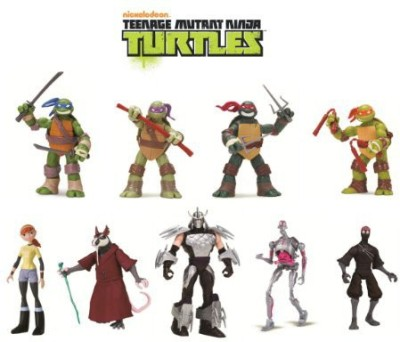 Teenage Mutant Ninja Turtles 9Pack Basic Bundle