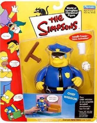 Playmates The Simpsons The Simpsons 2000 Playmates Series 2 Chief Wiggum