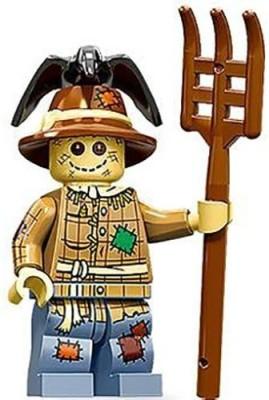 Lego Scarecrow Mini Figure