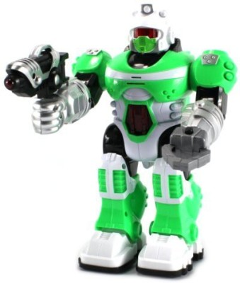 Velocity Toys Power Warrior Android Robot W/ Lightssoundsrealistic