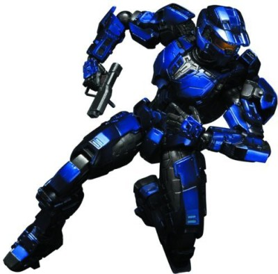 Square Enix Halo Play Arts Kai Blue Spartan