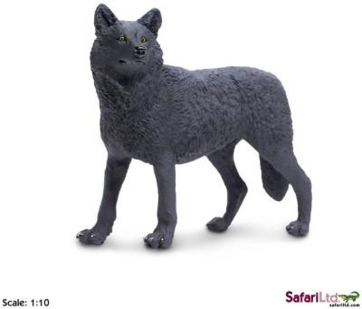 Safari Ltd Ww Black Wolf