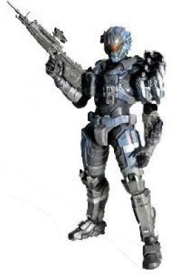 Halo Reach Square Enix Play Arts Kai Series 2 Action Figure Commander Carter