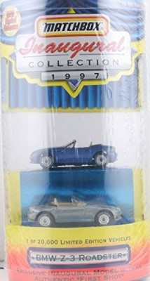 Matchbox 1997 Inaugural Collection Bmw Z3 Roadster With