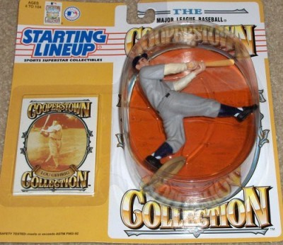 Starting Line Up Lou Gehrig Cooperstown Collection 1994