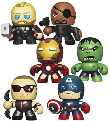 The Avengers Avengers Movie Mini Mighty Muggs Vinylwave 1 Set