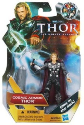 Hasbro Thor The Mighty Avenger 19 Cosmic Armor Thor 375 Inch