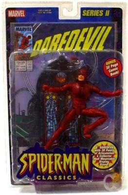 Marvel Spiderman Classics Series 2 Daredevil