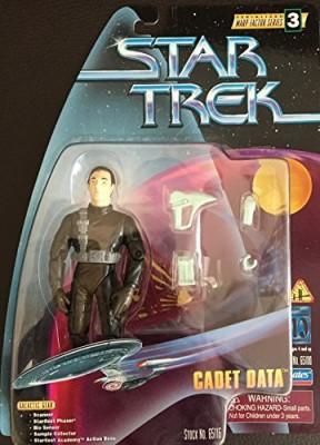 Star Trek The Next Generation Warp Factor Series 3 Cadet Data 4 Inch