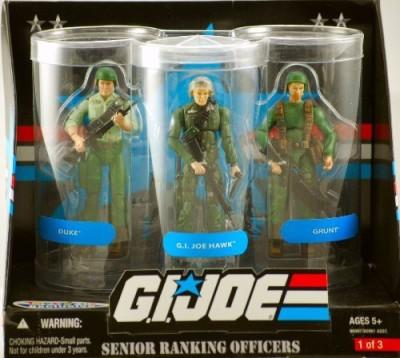 G I Joe Exclusive Senior Ranking Officers 3Pack Duke