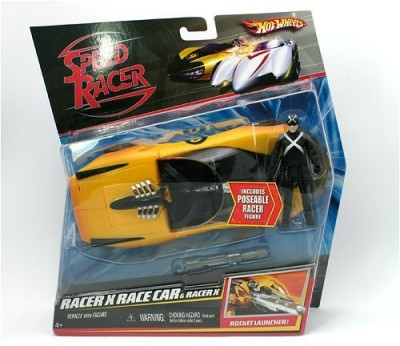 Speed Racer Battle Vehicle And Racer X Race Car And Racer X