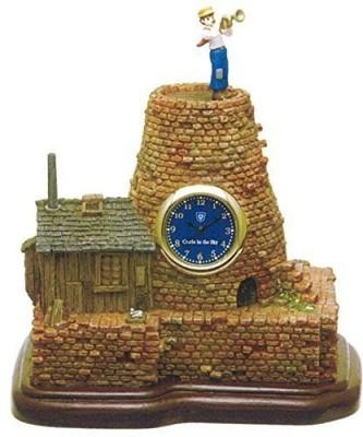 Benelic Castle In The Sky Pazu,S House Table Clock Statue