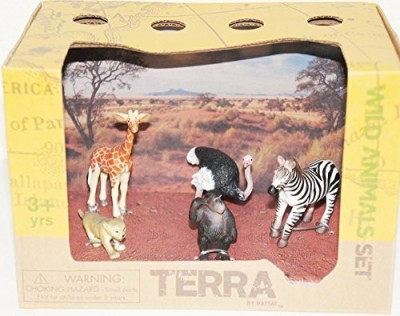 Battat Terra Wild Animals Box Set (Box Size 7