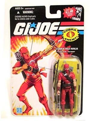 GI Joe 25th Anniversary 25th Anniversary, Cobra Red Ninja Action Figure, 3.75 Inches