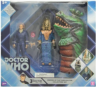 Underground Toys Doctor Who Enemies Of The 3Rd Doctor