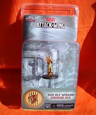 WizKids D&D Attack Wing Wave One Sun Elf Wizard Expansion Pack