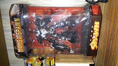 McFarlane Toys 1997 Spawn Special Edition Manga Spawn In Tank Display Case