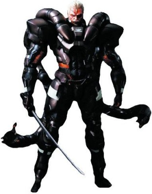 Square Enix Metal Gear Solid 2 Play Arts Kai Solidus Snake