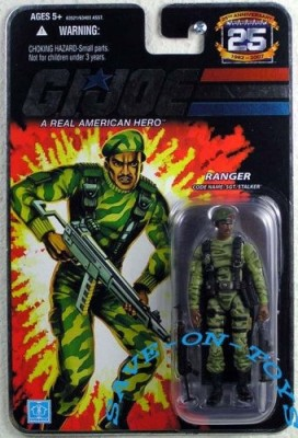 G.I. Joe 25th Anniversary Ranger SGT. Stalker Action Figure
